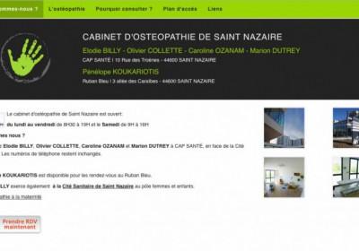 Osteopathe Saint Nazaire